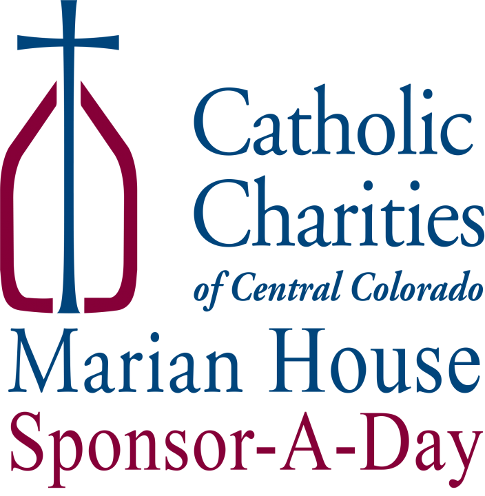 Marian House Sponsor A Day Logo