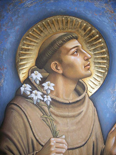 picture of st. anthony of padua