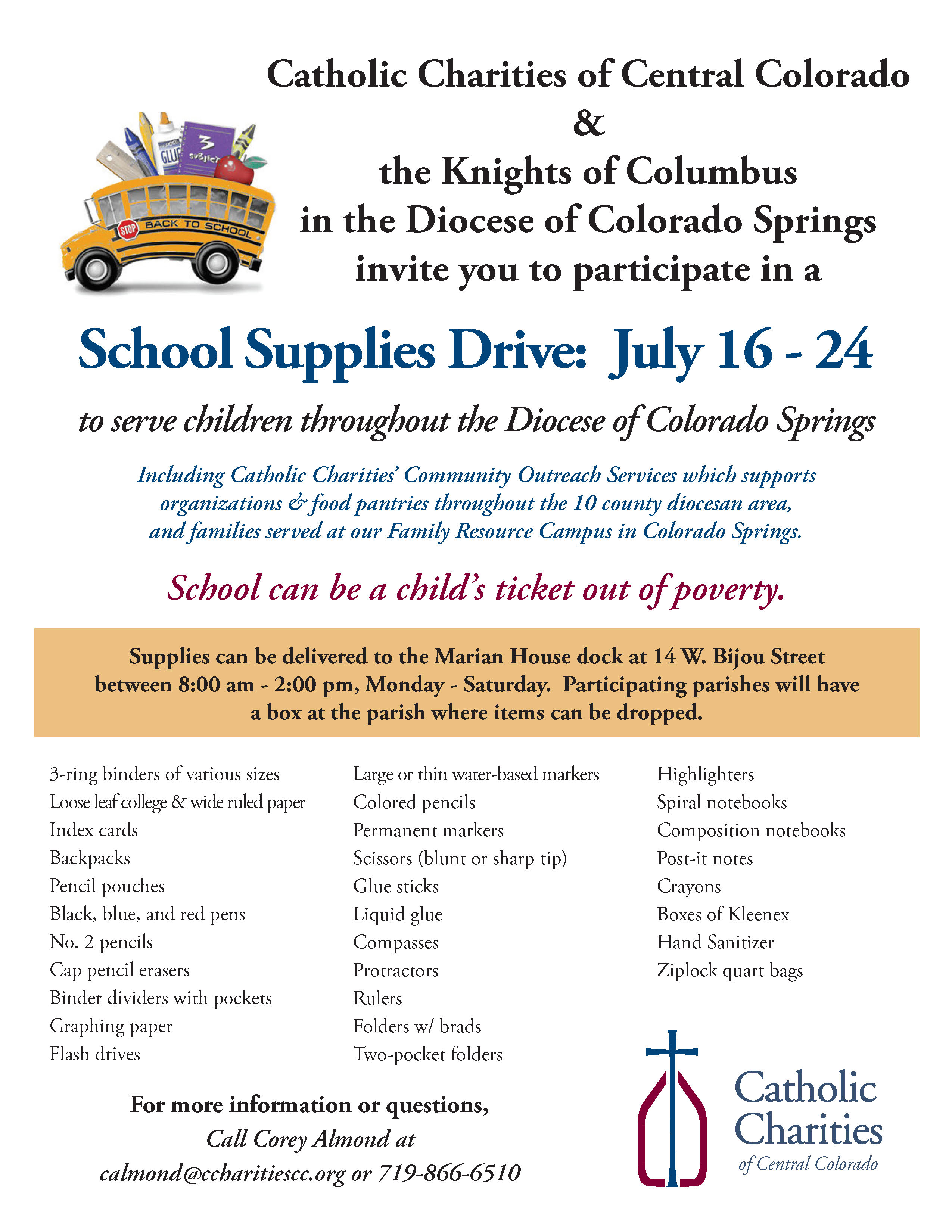 2016 Supply Drive Colo Spgs
