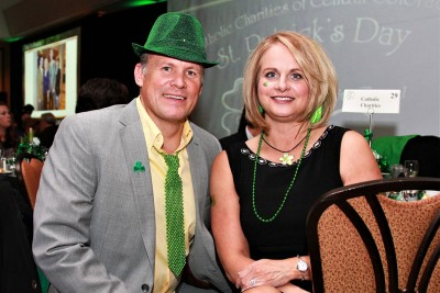 An image of 2017 St. Patrick's Day Gala attendees
