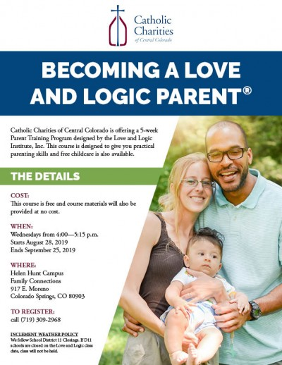 love and logic | Catholic Charities of Central Colorado