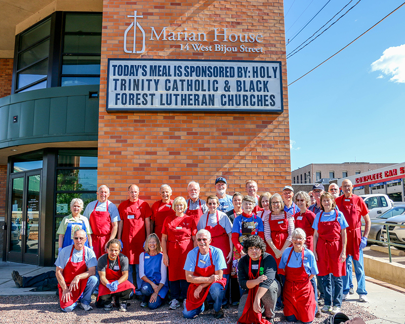 Marian house soup kitchen catholic charities of central for Maran house