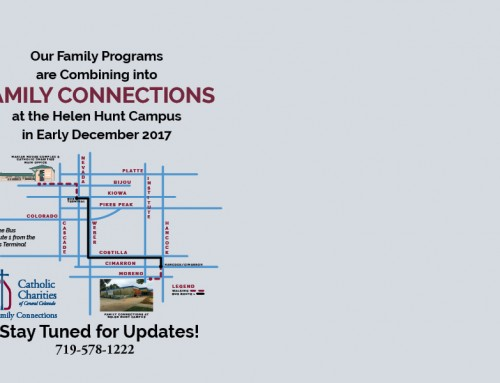 Our Family Programs are Combining into One Program Called Family Connections