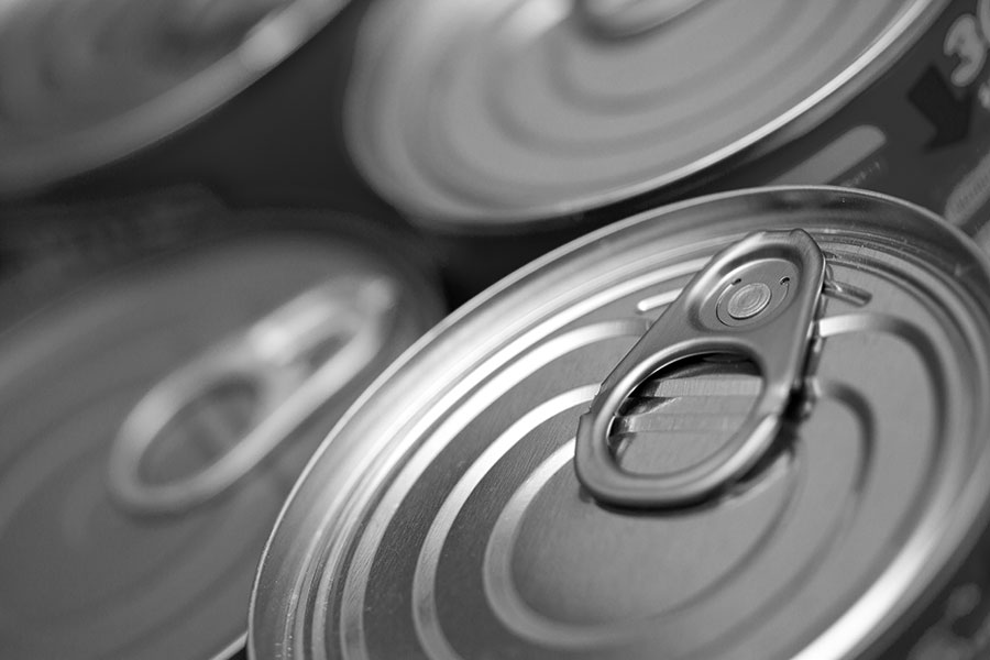 February prayer intention - canned food