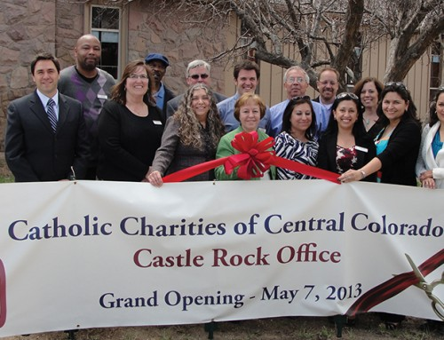 Beyond Bandages:  Castle Rock Office of Catholic Charities of Central Colorado