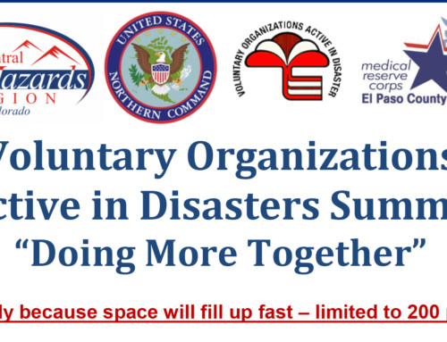 Voluntary Organizations Active in Disasters Summit