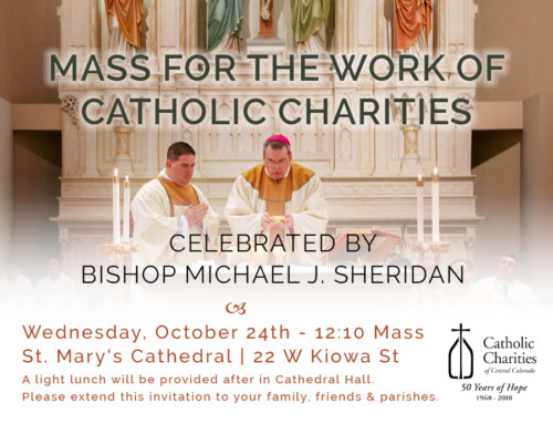 Mass for the Work of Catholic Charities