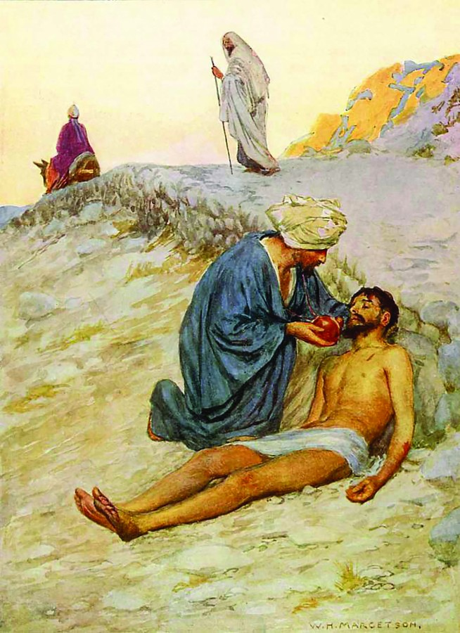 Image result for image of Luke 10:29 neighbor